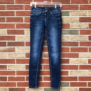 👖 Wallflower Bleached Indigo Jeans (Juniors)